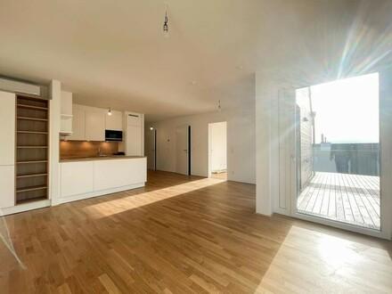 Terrassenwohnung mit Weitblick zw. Stadt & Land f. gehobene Ansprüche / Terrace apartment with far-reaching view btw. c…