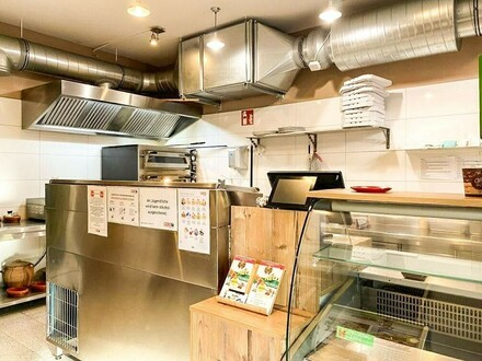 Gastronomie-Betrieb / Imbiss-Lokal in sehr guter Lage // Catering business / snack bar in very good location