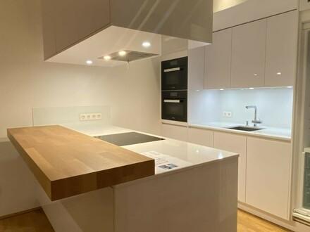Dachgeschoss-Terrassenwohnung im Neubau mit Tiefgarage // Top floor terrace apartment in the new building with underground…