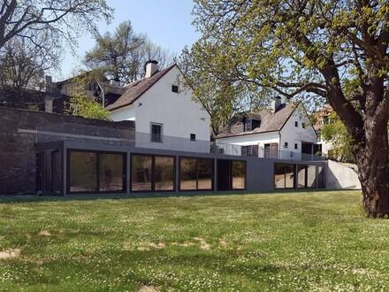 Historische & moderne Rarität im eigenen Parkgarten am Kahlenberg mit Donaublick // Historical & Modern Rarity in own Park-Garden…