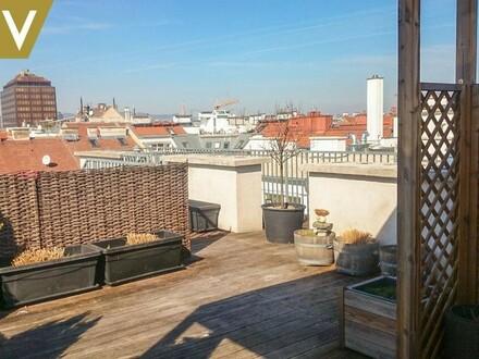 Terrassen-Penthouse nächst U3 / Rochus // Terrace-Penthouse near U3 / Rochus