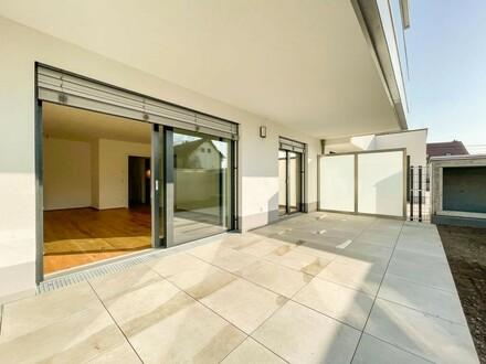 Elegante Single Gartenwohnung im Herzen Asperns - Provisionsfrei f. Käufer // Elegant Single garden apartment at the heart…