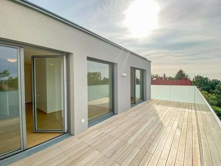Erstbezug - Dachterrassenwohnung für gehobene Ansprüche // First occupancy attic terrace apartment for high demands