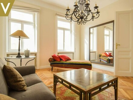 Möbliertes Apartment mit Flair und Niveau // Furnished apartment with flair and high-standard //