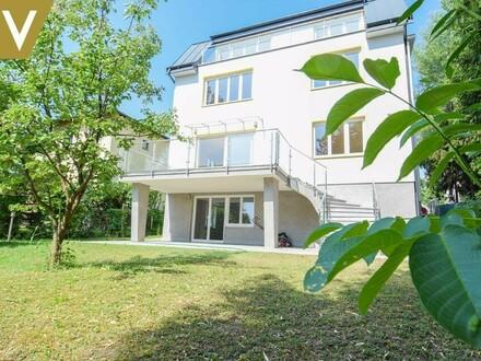 Großzügige Stadt-Villa mit großem Garten auch als Kindergarten nutzbar // Generous City Villa with garden usable as kindergarten…