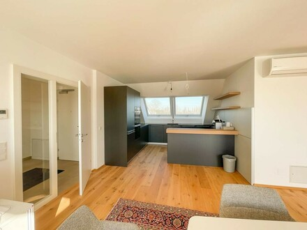 Herrliche Dachgeschoss Penthouse mit Terrasse in Aspern- Provisionsfrei // Gorgeous attic penthouse with terrace in Aspern…