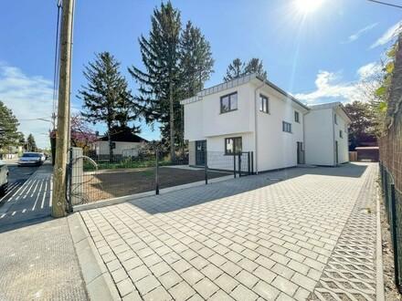 Doppelt charmant - modern Wohnen in Schwarzlackenau …Provisionsfrei f. Käufer! // Double charming - modern living in Schwarzlackenau