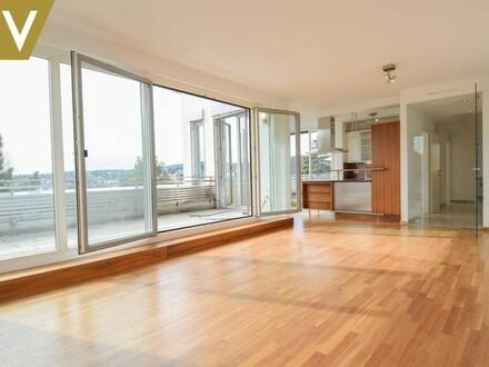 Küche-Wohnbereich-Perspektive
