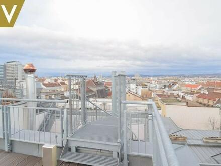Dachterrasse-Aussicht