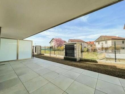 Single Gartenwohnung im Herzen Asperns - Provisionsfrei f. Käufer // Single garden apartment at the heart of Aspern - brokerage…