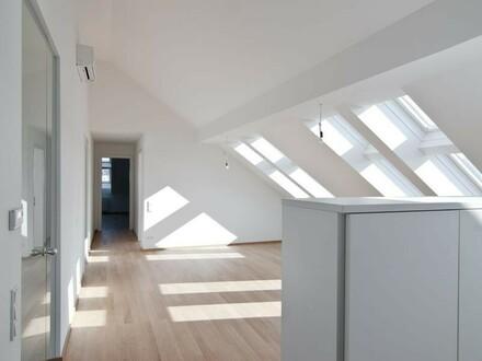Margaretenhof: Top moderne, helle DG-Terrassen-Wohnung