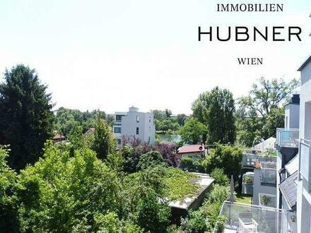 Citynaher Lifestyle mit Badezugang zum Kaiserwasser - Sonnige Dachgeschoßwohnung mit 3 Balkonen!