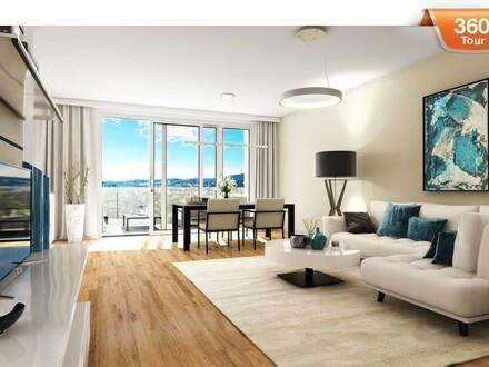 Wunderschöne Aussicht! Luxuriöses Penthouse mit 2 Terrassen am Baumgartner -Casino- Park!