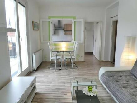 Ready to move in!!! Top moderne Wohnung mit 20m² Terrasse und Weitblick!