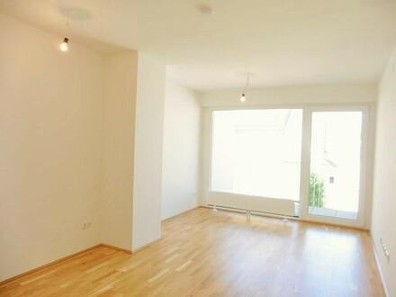 Top-moderne 2-Zimmer-Neubauwohnung mit großer Loggia (Nähe 1.Bezirk)