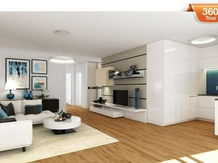 Erstbezug! Moderne 4 Zimmer Wohnung mit Loggia!
