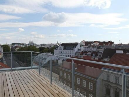 Exklusive Terrassenwohnung mit sensationellem Weitblick! ERSTBEZUG!