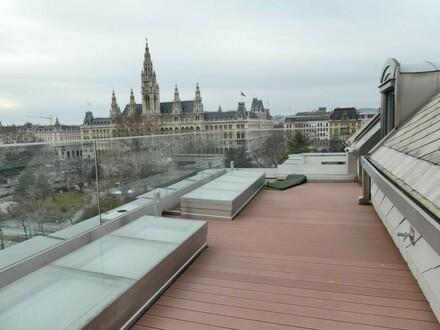 Vienna-City-Highlight: 300m² Luxus-DG-Maisonette mit Top-Austattung