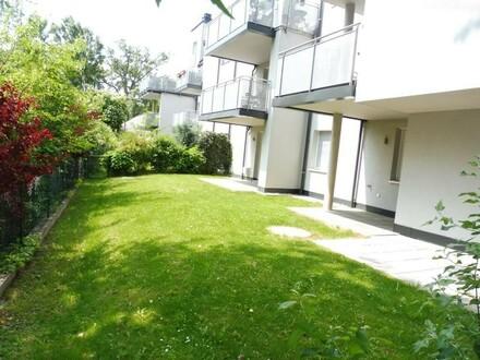 Sommerfeeling am Kaiserwasser! Moderne 4 Zimmer Neubauwohnung mit großem Eigengarten!