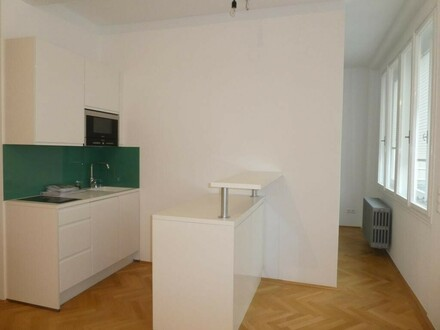 Schickes City-Apartment mit großer TERRASSE im HOCHHAUS HERRENGASSE!!!