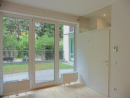 Ruhige, loft-artige Neubauwohnung mit 2 Terrassen