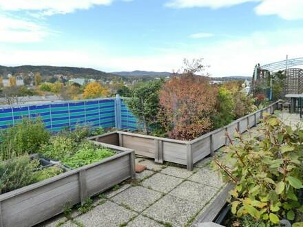 Dachgeschosstraum - 6 Zimmer - 85m²-Dachterrasse