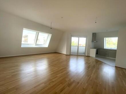 Hochwertig ausgestattete 3-Zimmer-Neubauwohnung mit großer Loggia - ERSTBEZUG!!