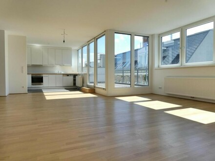 Traumhafte DG-Wohnung mit großer Dachterrasse in super Lage!