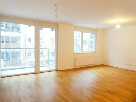 Nähe Neubaugasse!!! 2-Zimmer-Neubauwohnung mit großem Balkon
