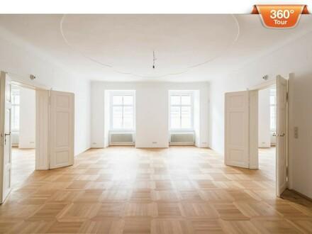 3D-Tour! Neu saniertes Büro im Palais Erdödy-Fürstenberg nahe Kärnter Straße! Ideal für Büro- oder Praxisgemeinschaften.