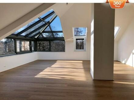 Luxuspenthouse an der Lend in Klagenfurt Innenstadt mit atemberaubendem Blick