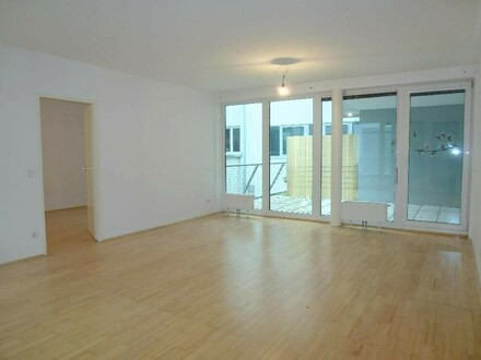 Moderne, sehr gut aufgeteilte 2-Zimmer-Terrassenwohnung