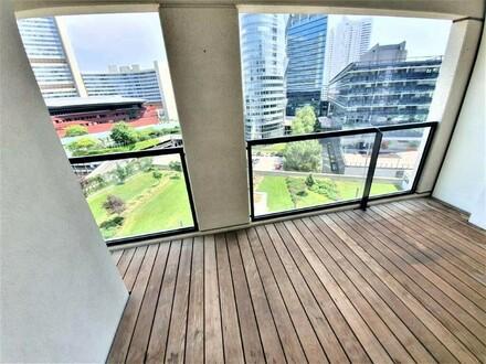 DC-LIVING: Moderne Neubauwohnung mit großer Loggia und tollem Blick! (6.OG)