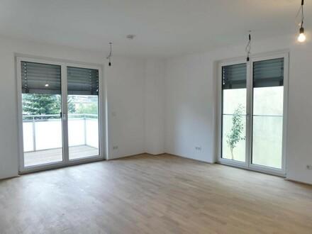 ERSTBEZUG - 3 Zimmer Neubauwohnung mit 6m² großem Balkon