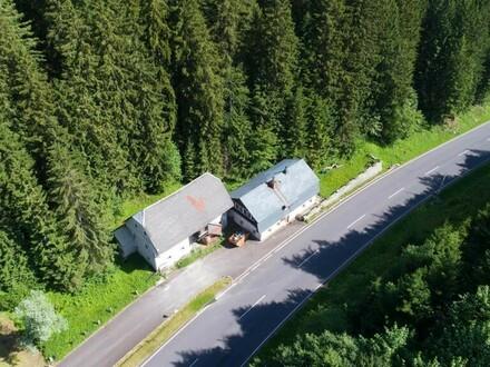 Jägerhaus am Pyhrnpass - Verkauf mit DAVE im offenen Verfahren: Startpreis € 40.000,-