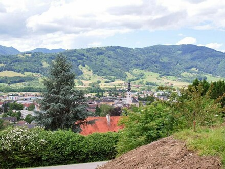 Blick über Kirchdorf