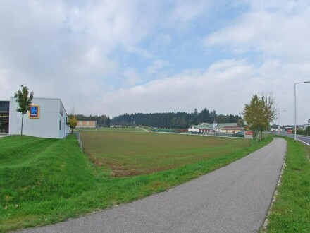 Gewerbegebiet Kirchdorfer Straße - Gewerbegrundstück zu pachten