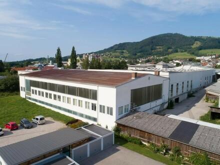 Starten Sie Ihre Produktion - jede Menge Platz im ÖGZ Kirchdorf