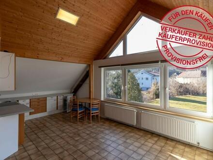 Pärchen - Dachgeschoßwohnung mit großer Sonnenterrasse