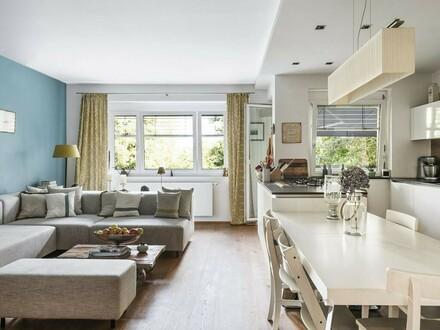 Hochwertige Terrassenwohnung in absoluter Grünruhelage
