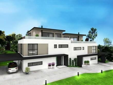 Exklusive Doppelhaushälfte - Provisionsfreier Erstbezug in Grünlage