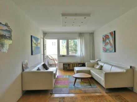 Ruhige 3-Zimmerwohnung mit Südloggia im Pressbaumer Zentrum