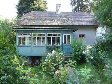 Wienerwaldhaus in zentraler, grüner Siedlungslage