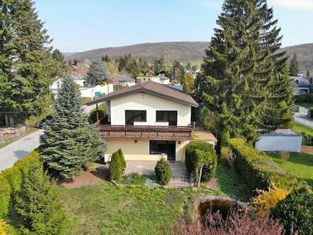 Einfamilienhaus in sonniger Grünruhelage unweit der Wiener Stadtgrenze