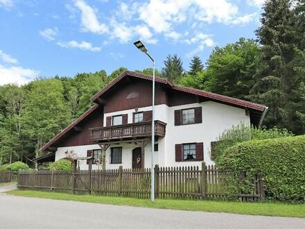 Landhaus in ruhiger Naturidylle in der Pfalzau