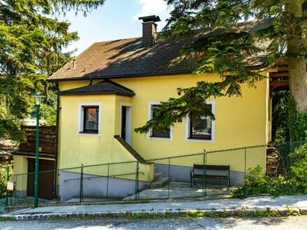 Kleine Wienerwaldvilla in Gablitz mit idyllischem Garten