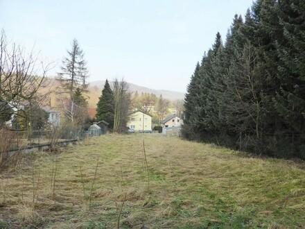 Ebenes Grundstück im Bauland in Sittendorf