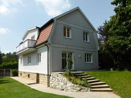 Wienerwaldvilla mit weitläufigem Garten in toller Aussichtslage