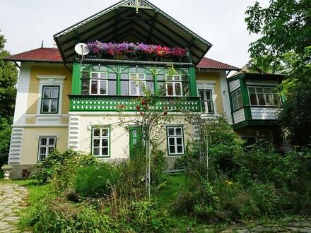 Villen-Etage mit Naturgarten in Jahrhundertwendehaus auf der Lawies