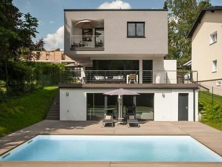 Modernes Einfamilienhaus in Niedrigenergiebauweise